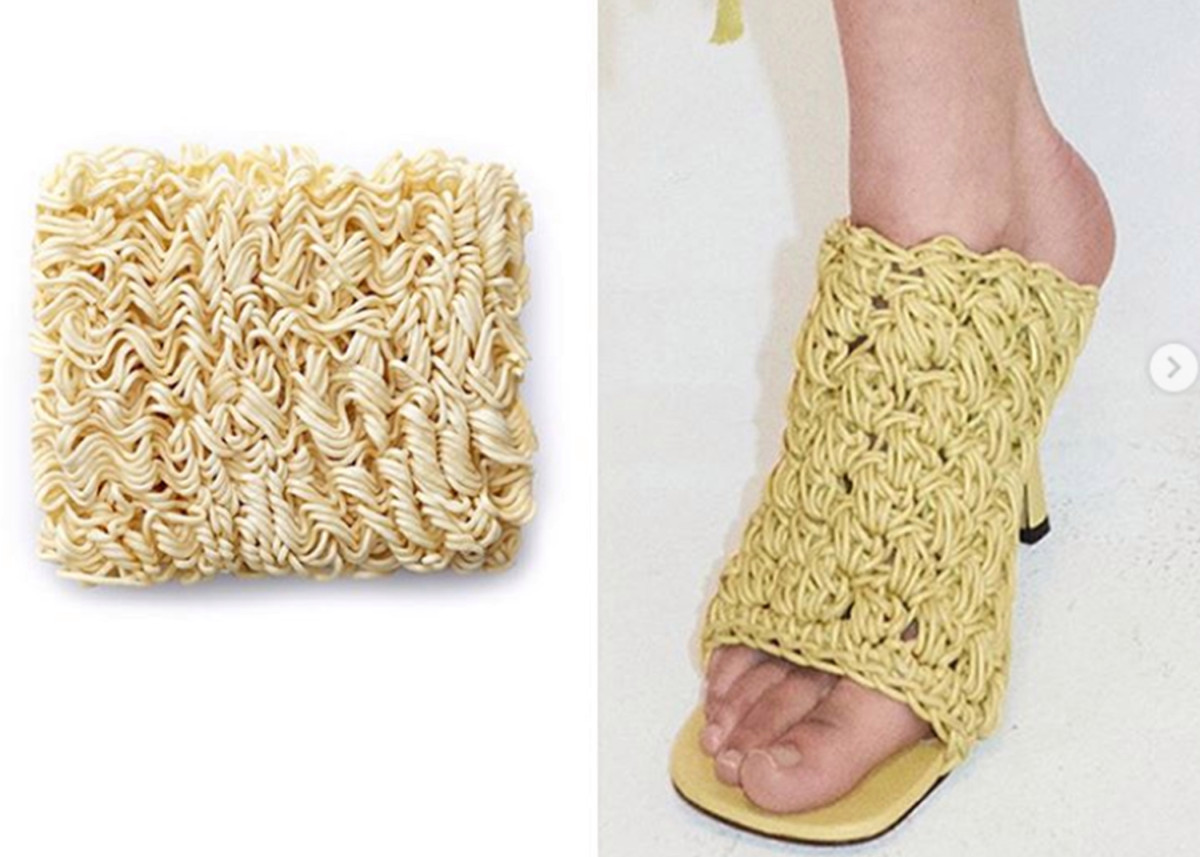 These 'ramen shoes' became an instant fashion meme
